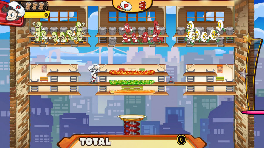 BurgerTime Party! Review - Screenshot 4 of 4