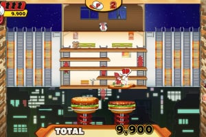 BurgerTime Party! Screenshot