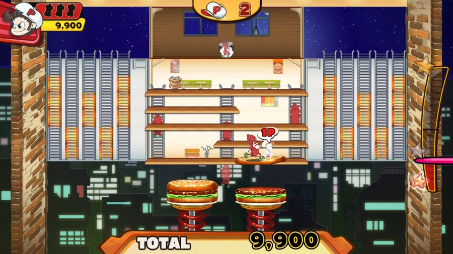 BurgerTime Party! Review - Screenshot 3 of 4