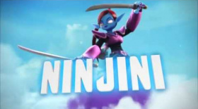 Skylanders Giants (Wii U) Ninjini Reveal