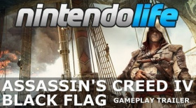 Assassin's Creed IV Black Flag (Wii U) Gameplay Trailer