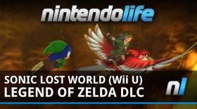 Sonic Lost World (Wii U) Zelda Zone DLC Footage