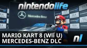 Mario Kart 8 (Wii U) Mercedes-Benz DLC Footage