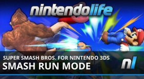 Super Smash Bros. for Nintendo 3DS (3DS) Smash Run Mode