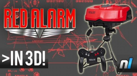 Red Alarm (Virtual Boy) - Watch in 3D!