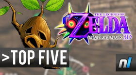 Top Five Most Depressing Moments in The Legend of Zelda Majora's Mask 3D