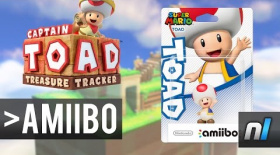Using amiibo With Captain Toad: Treasure Tracker!