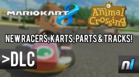 Animal Crossing x Mario Kart 8 DLC Showcase!