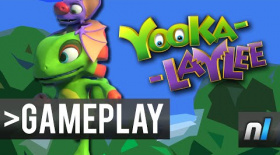 Yooka-Laylee Gameplay Footage