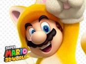 Wallpaper: Super Mario 3D World - Cat Mario