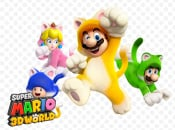 Wallpaper: Super Mario 3D World - Cats