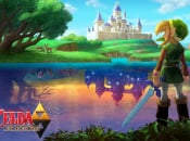 Wallpaper: Zelda: A Link Between Worlds - Hyrule